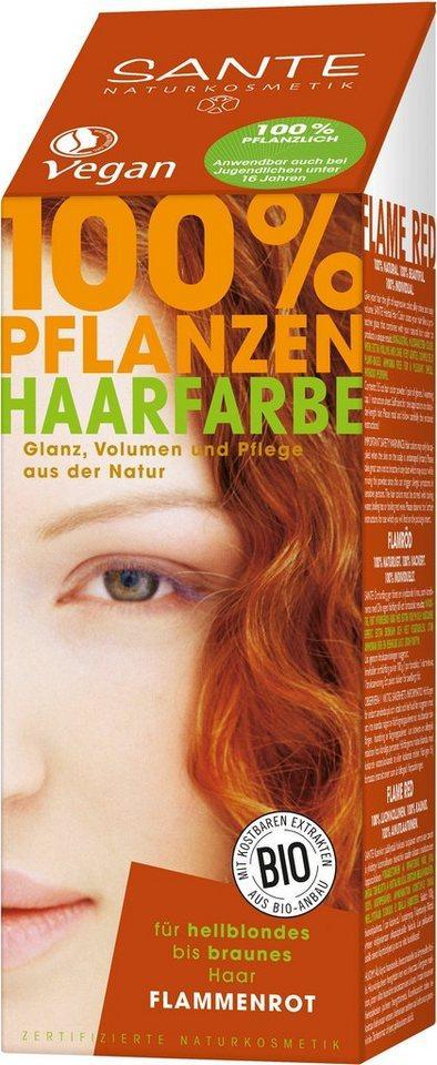 SANTE Haarfarbe »Pflanzenhaarfarbe naturrot«