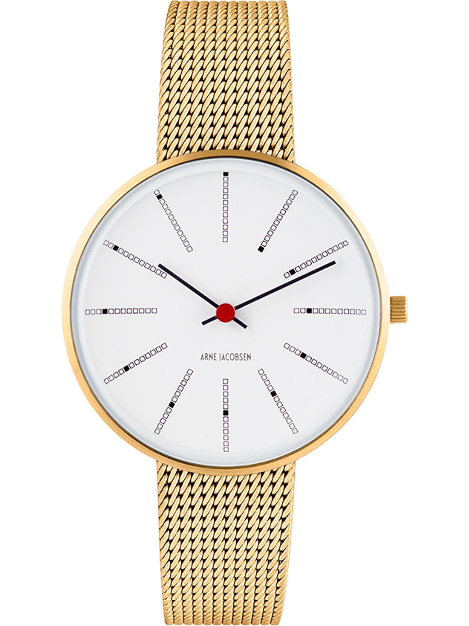 Arne Jacobsen Arne Jacobsen Damen-Uhren Analog Quarz ' ' gold