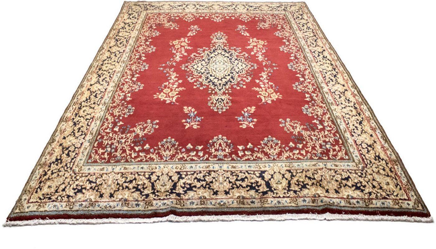 Wollteppich »Kerman Teppich handgeknüpft rot«, morgenland, rechteckig, Höhe 12 mm