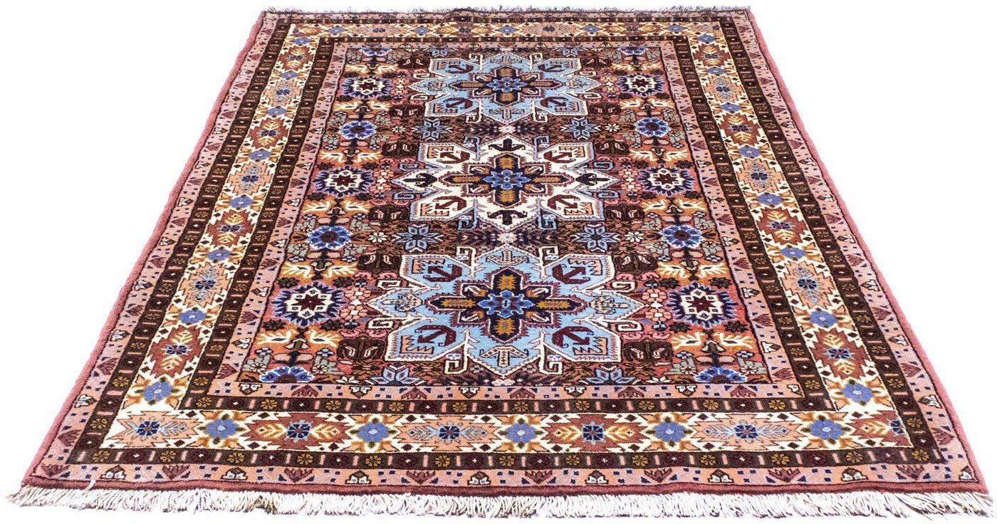 Wollteppich »Ardebil Teppich handgeknüpft rot«, morgenland, rechteckig, Höhe 7 mm