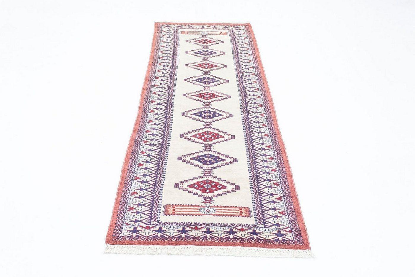 Wollteppich »Pakistan Teppich handgeknüpft beige«, morgenland, rechteckig, Höhe 6 mm