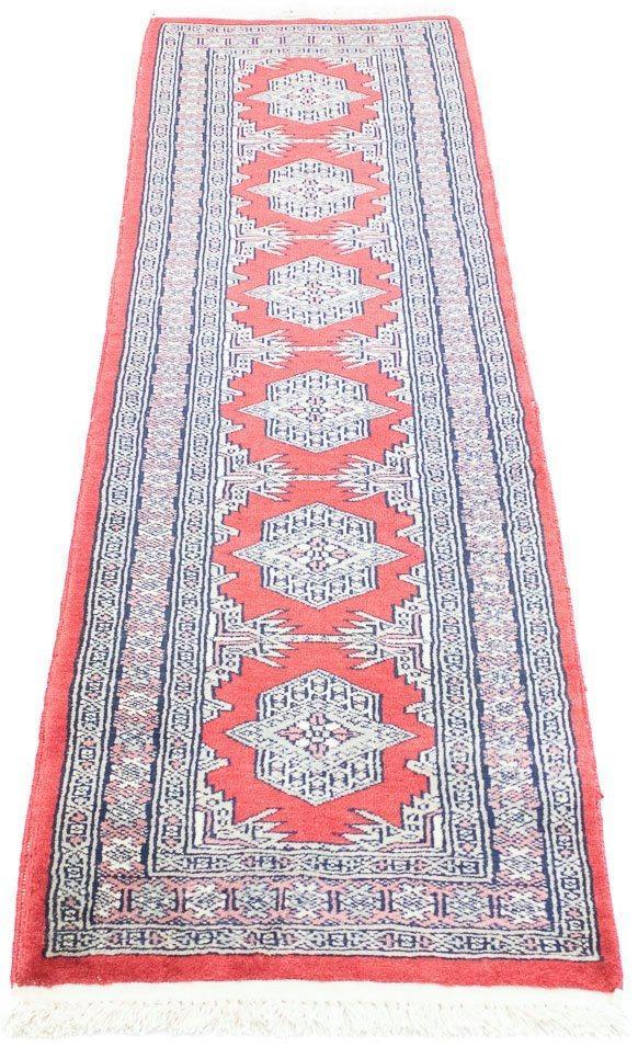 Wollteppich »Pakistan Teppich handgeknüpft rot«, morgenland, rechteckig, Höhe 6 mm