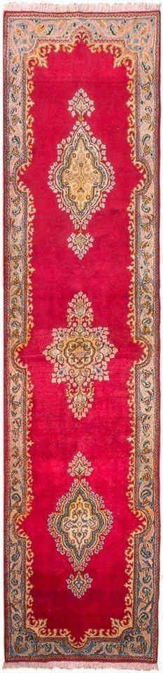 Wollteppich »Kerman Teppich handgeknüpft rot«, morgenland, rechteckig, Höhe 7 mm