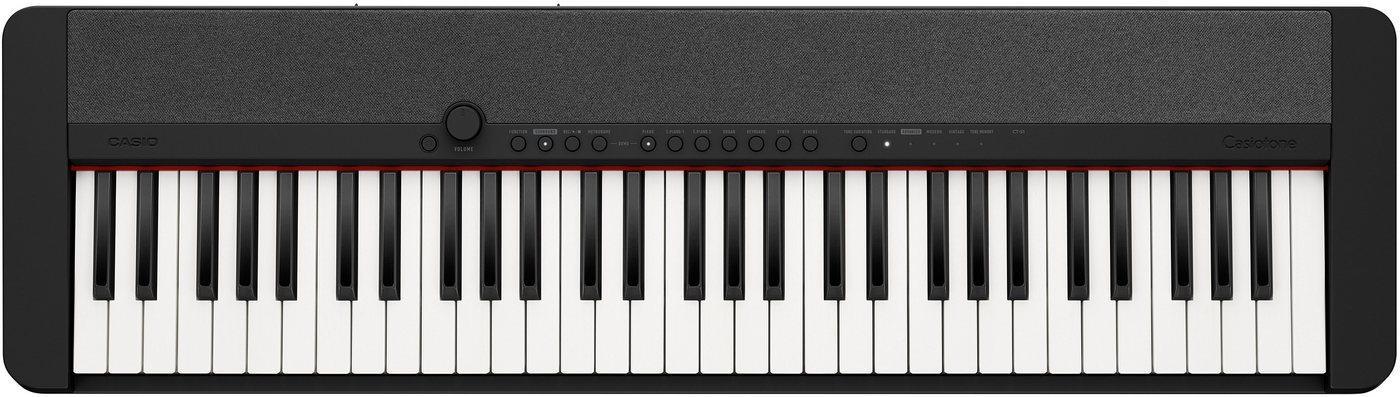 CASIO Keyboard »Piano-Keyboard CT-S1BKSP«, ideal für Piano-Einsteiger und Klanggourmets; inkl. Sustainpedal und Netzteil