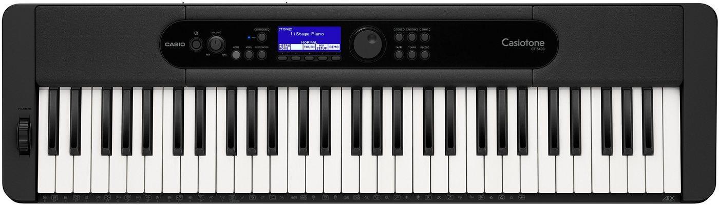 CASIO Keyboard »Standardkeyboard CT-S400«, inkl. Sustainpedal und Netzteil