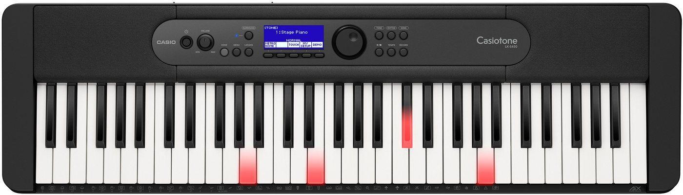 CASIO Keyboard »Leuchttastenkeyboard LK-S450«, inkl. Sustainpedal und Netzteil