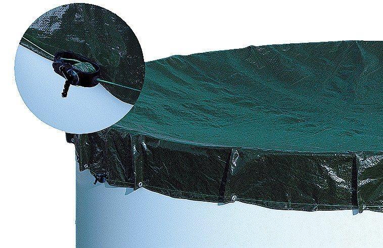 MyPool Pool-Abdeckplane, für Achtform- und Ovalbecken, in versch. Größen