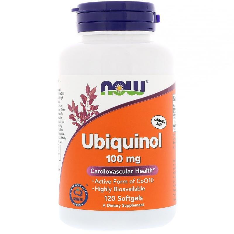 Ubiquinol, 100 mg, 120 Softgels (457,50 EUR pro 100g)