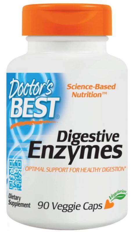 Doctor, s Best Verdauungsenzyme Digestive Enzymes Magen Darm 90 Kapseln (249,00 EUR pro 100g)