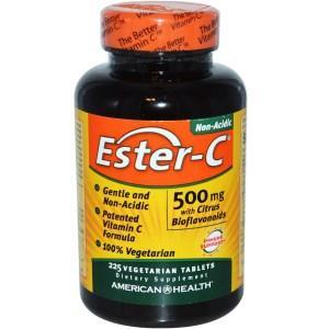 Ester-C, 500 mg with Citrus Bioflavonoids, 225 Veggie Tabs