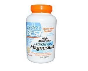 Doctor, s Best, High Absorption Magnesium, 240 Tabletten! (104,17 EUR pro 100g)