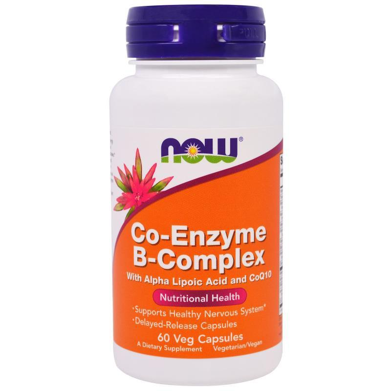 Co-Enzyme B-Complex, 60 Veggie Caps (38,79 EUR pro 100g)