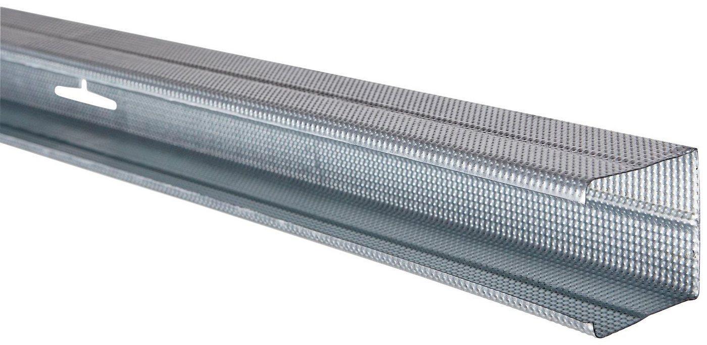 Rigips Wandanschlussprofil »RigiProfil MultiTec CW 50« (1-St), C-Form, LxB: 300 x 5,0 cm