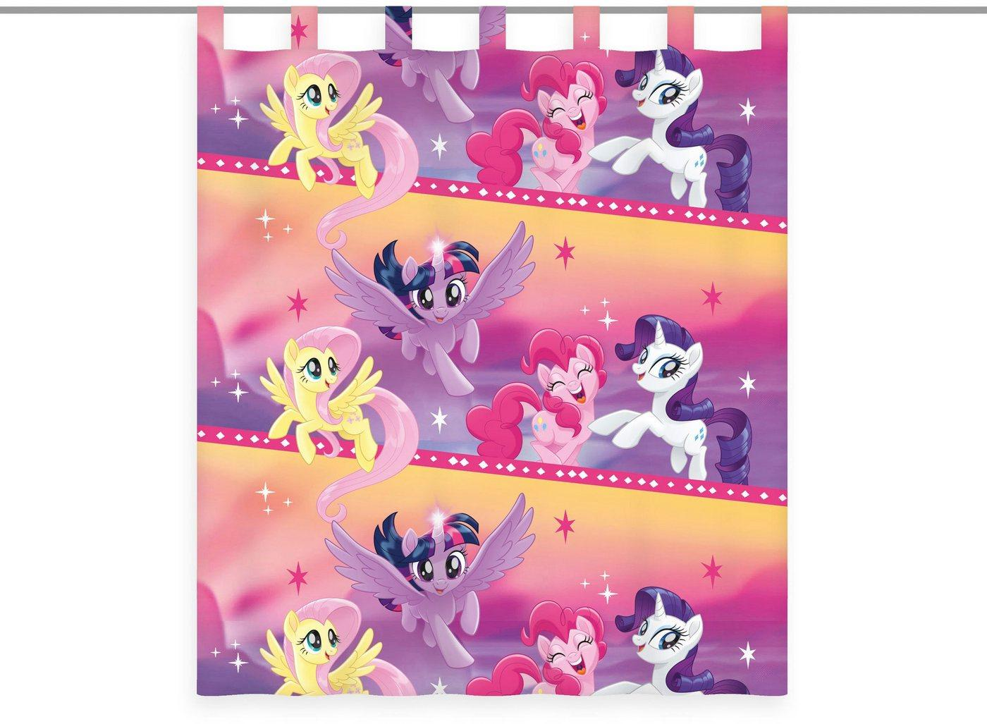 Vorhang »My little Pony«, My Little Pony, Schlaufen (1 Stück), My little pony Vorhang