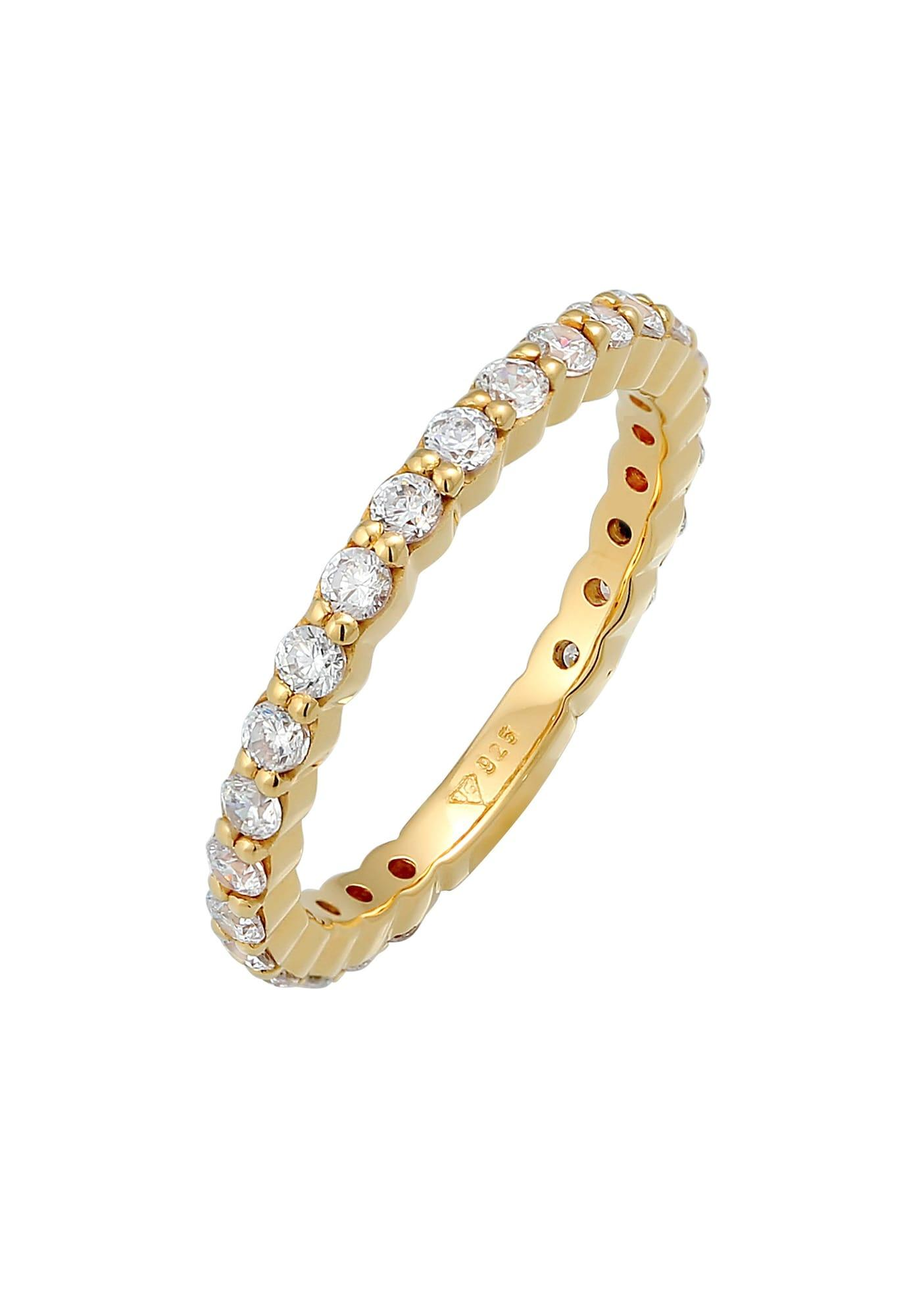 ELLI Ring Kristall Ring gold