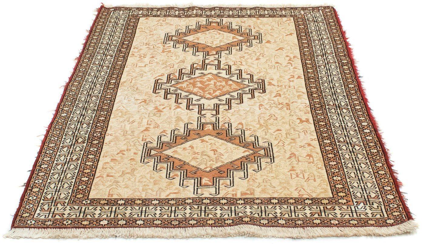 Teppich »Ardebil Teppich handgeknüpft beige«, morgenland, rechteckig, Höhe 8 mm