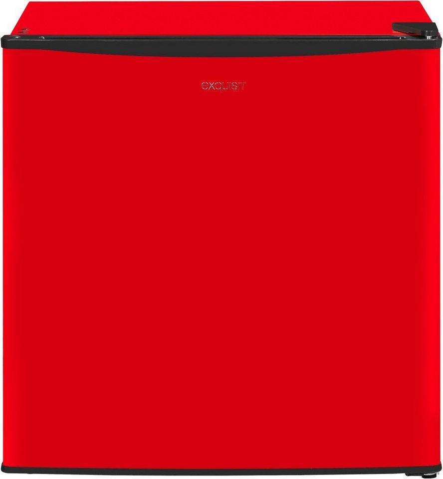 exquisit Gefrierschrank GB40-150E rot, 51 cm hoch, 45 cm breit, rot