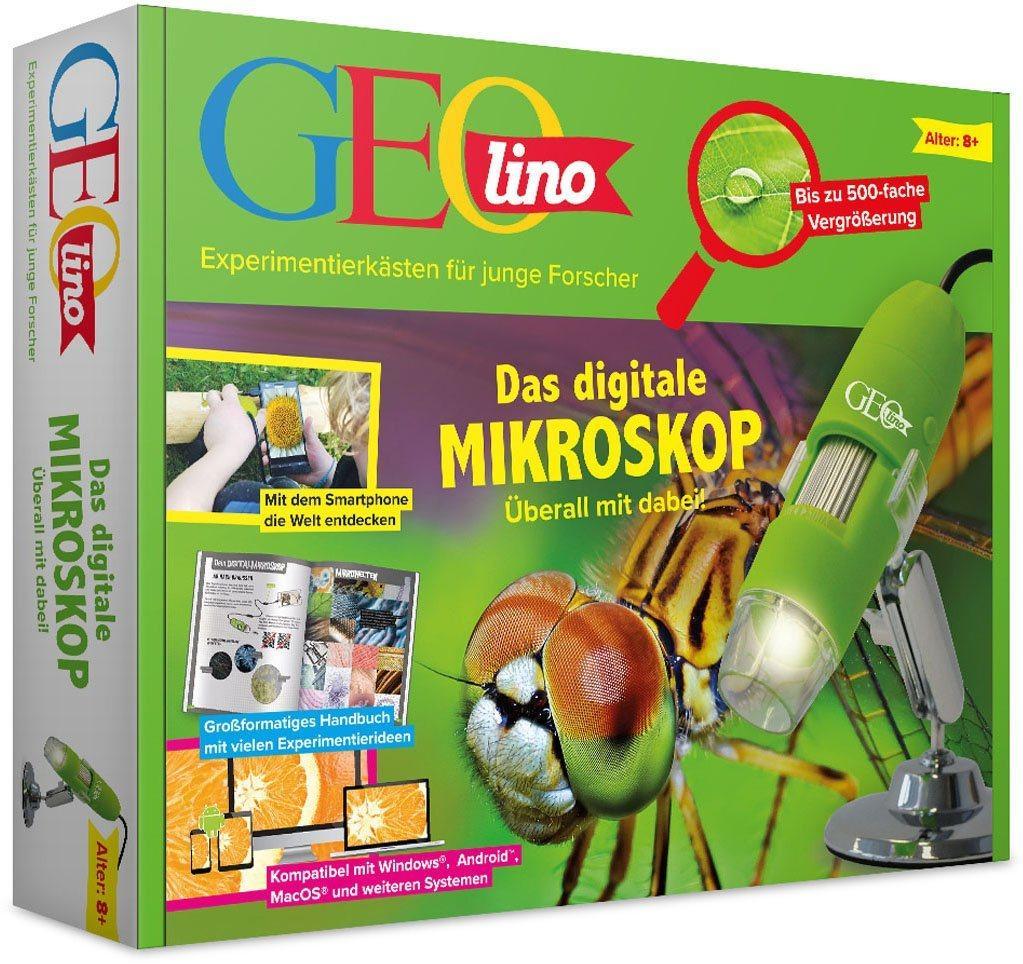 Franzis »GEOlino, Das digitale Mikroskop« Kindermikroskop (100x-500x)