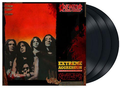 Kreator Extreme aggression LP multicolor