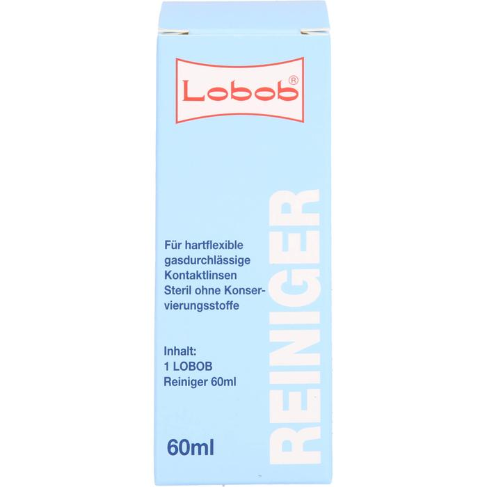 EYE CARE Lobob Oberfl.Reiniger f.harte Kontaktl. 60 ml