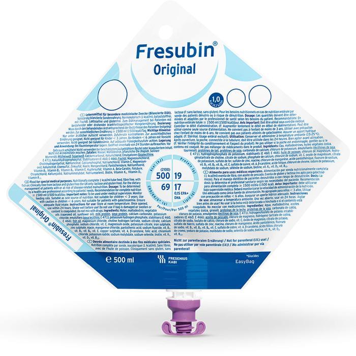 FRESUBIN ORIGINAL Easy Bag 7500 ml