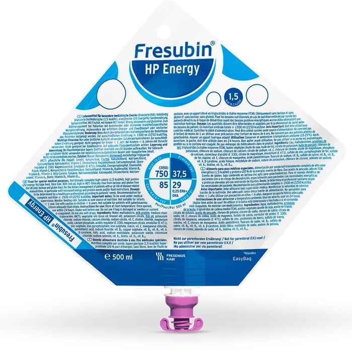FRESUBIN HP ENERGY Easy Bag 7500 ml