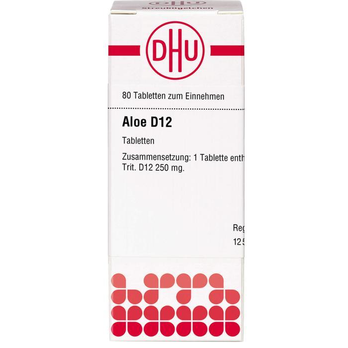 ALOE D 12 Tabletten 80 St.