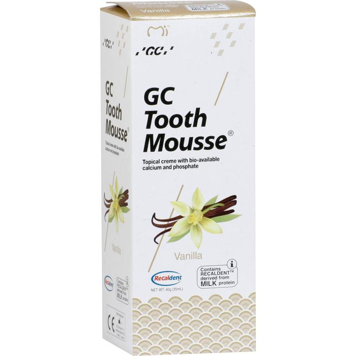 GC Tooth Mousse Vanille 40 g