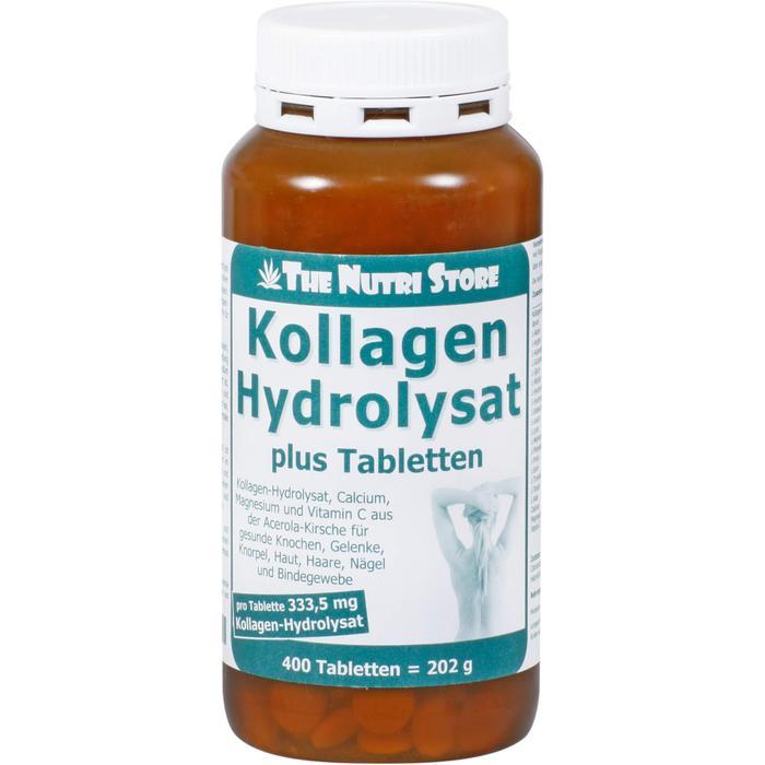 KOLLAGEN HYDROLYSAT plus Tabletten 400 St.