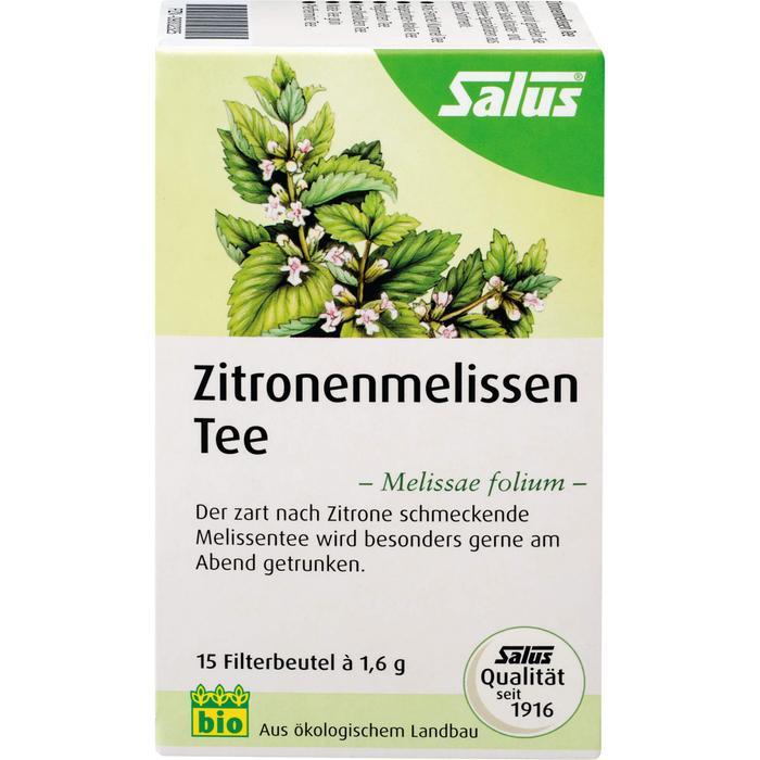 ZITRONENMELISSEN Tee Melissae herba Salus Fbtl. 15 St.