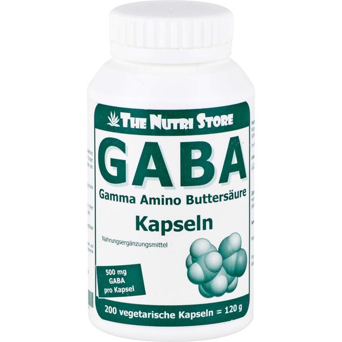 GABA 500 mg vegetarische Kapseln 200 St.