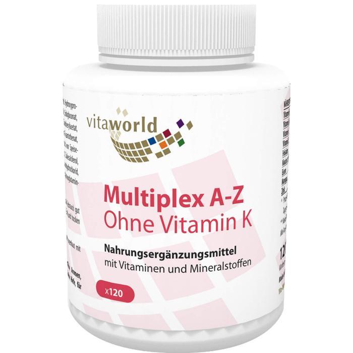 MULTIPLEX A-Z ohne Vitamin K Kapseln 120 St.