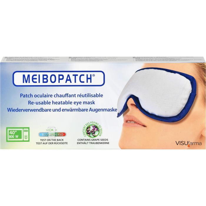 MEIBOPATCH Augenmaske erwärmbar 1 St.