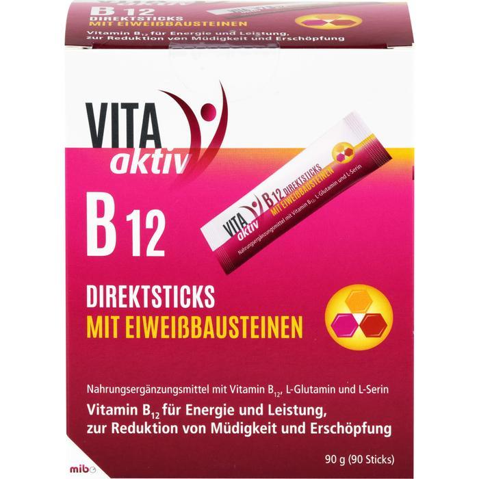 VITA AKTIV B12 Direktsticks mit Eiweißbausteinen 90 St.