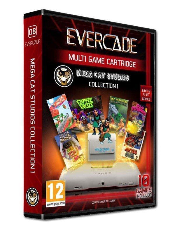 Blaze Evercade MegaCat Cartridge 1