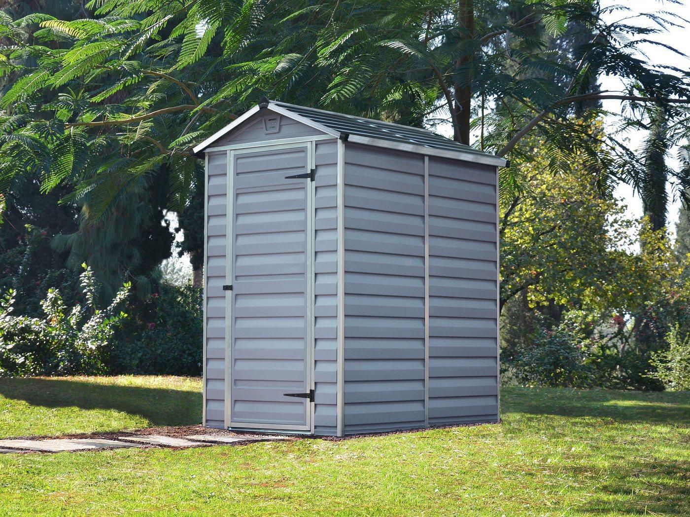 Palram - Canopia Gerätehaus »Skylight 4x6«, BxT: 122x177 cm