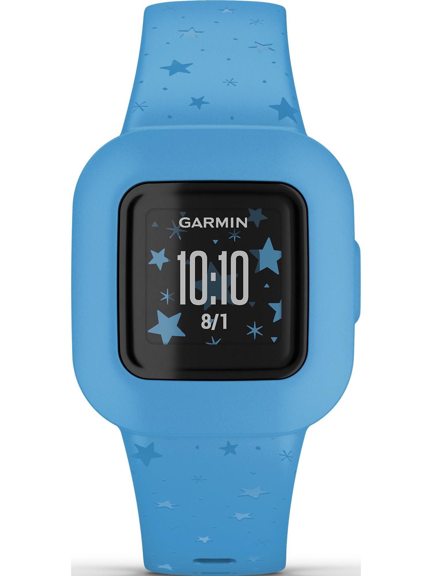 GARMIN Sportuhr blau / weiß
