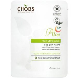 CHOBS Gesichtspflege Masken Face Mask Aloe 25 ml