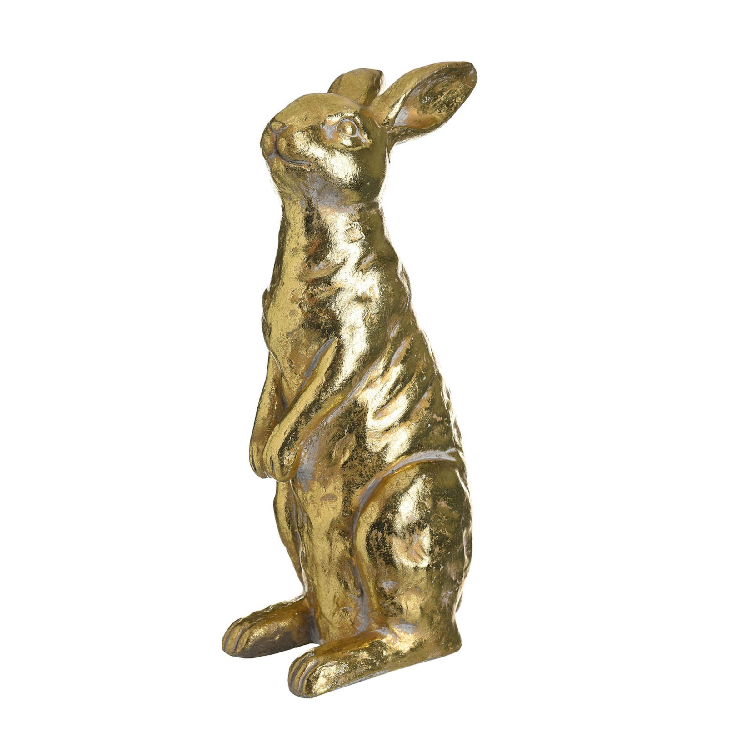 Hase Stehend ca.40cm, gold
