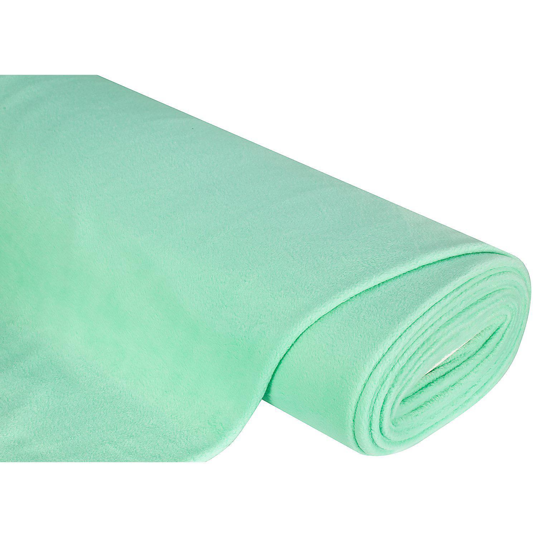 Fleecestoff, mintgrün