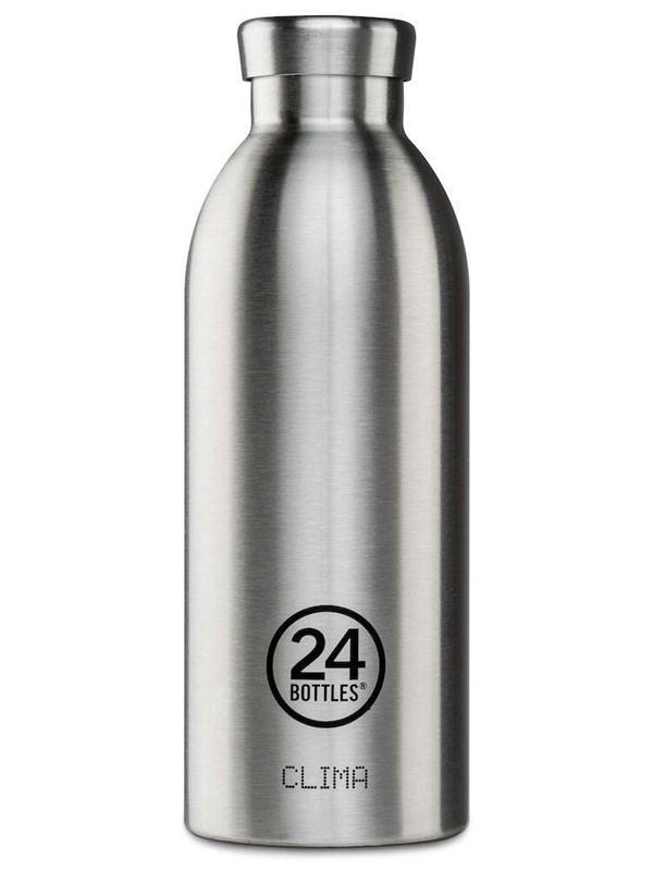 24 bottles - Clima Bottle 0.5 L - Steel (24B140)